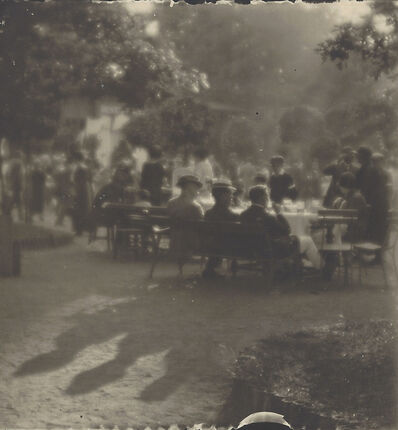 Josef Sudek, 'Sunday afternoon at Kolín island', ca. 1924