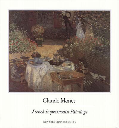 Claude Monet, 'le D'ejeuner', 1987