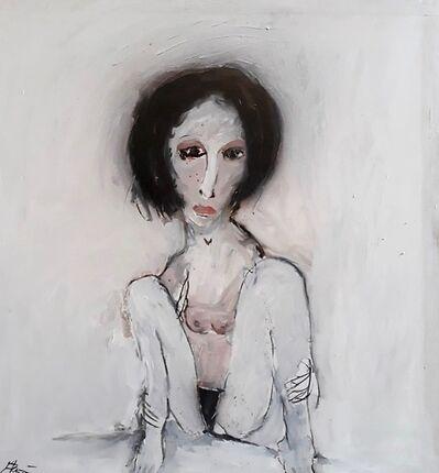 Jean Schmiedel, 'Sitzendes Mädchen', 2008