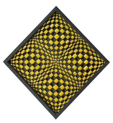 Dadamaino, 'Oggetto ottico-dinamico', 1960-1961