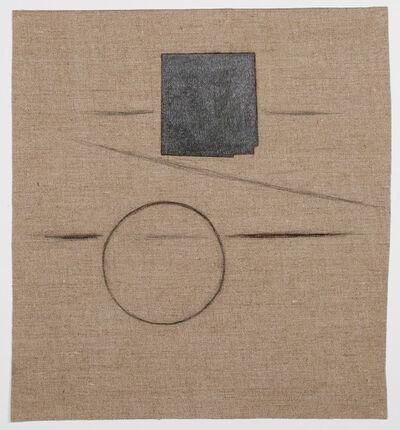 Bill Walton, 'Letters (Drawing on Linen)', n.d.