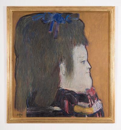 Fernando Botero, 'Perfil de una niña ', 1962