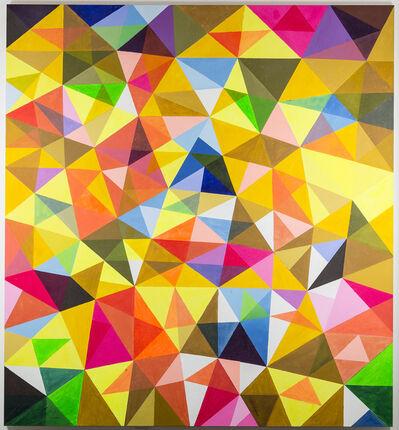 Ihosvanny Cisneros, 'Improv with Triangles IV', 2015