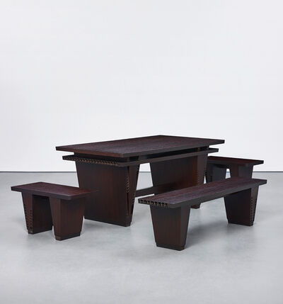 Thomas Schütte, 'Table and Three Benches', 2005