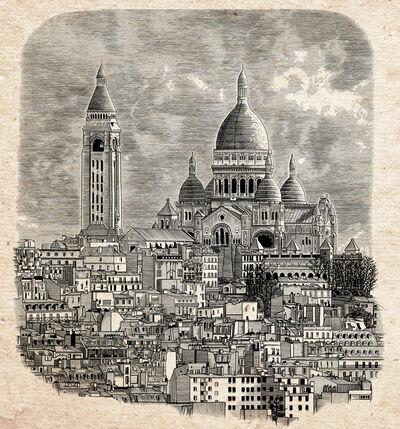 Arthur Borisov, 'Paris Sacre Coeur Cathedral (Monmartre), France', 2015