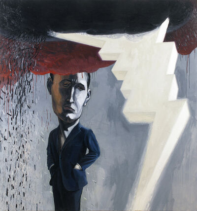 Scott Richter, 'Dark Cloud', 2012
