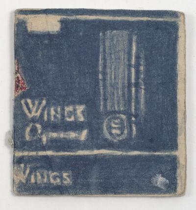 "James Castle, 'Untitled (""Wings"" book, Gooding School interior drawings)', n.d."