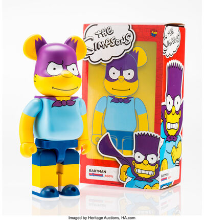 BE@RBRICK X The Simpsons, 'Bartman 400%', 2017