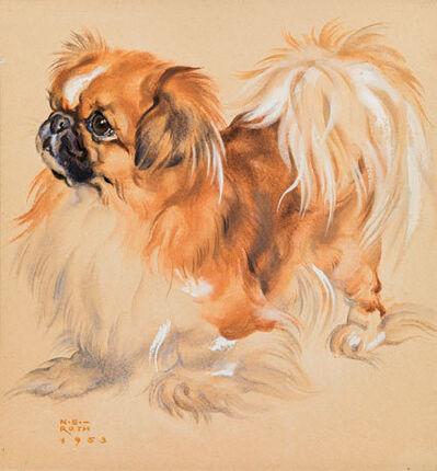 Norbertine Bresslern-Roth, 'Pekingese', 1953
