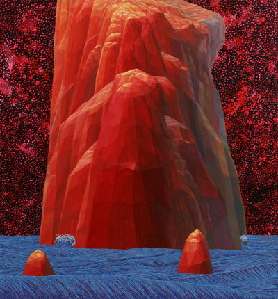 Ahn Doo Jin, 'Orange Stone', 2016