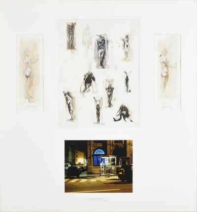Ernest Pignon-Ernest, 'PIGNON ERNEST (Français, né en 1942) Composition N°45', 1996
