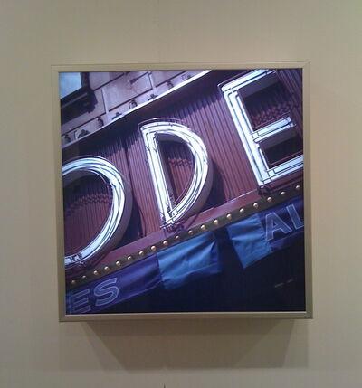 Robert Cottingham, 'ODE', 2009