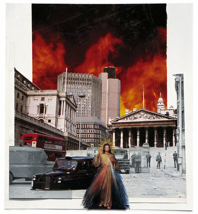 Sean Hillen, 'Jesus Appears In The City (Trouble in Paradise)', 1991