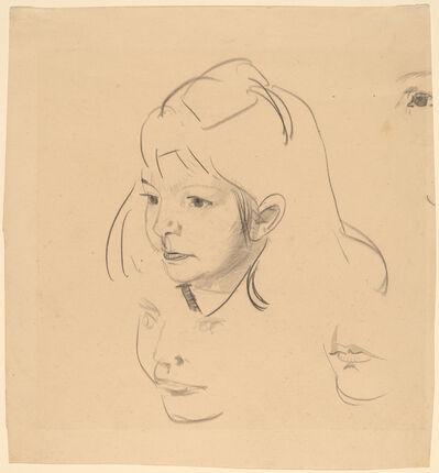 George Wesley Bellows, 'Studies of Jean', ca. 1920