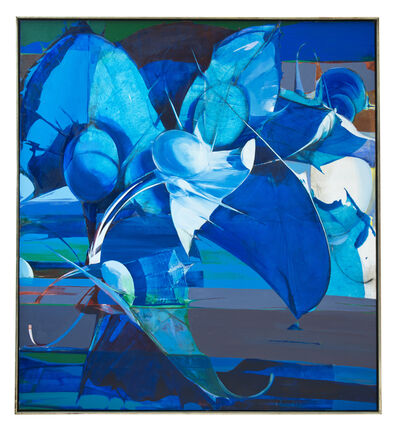 Richard Lytle, 'Blue Cluster', 1975