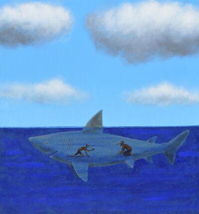 Pepe Yagües, 'Reencuentro con la barriga del tiburón Atila', 2019