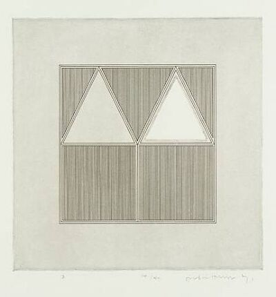 Gordon House, 'Triangles within a Square', 1971