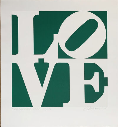 Robert Indiana, 'Greenpeace LOVE', 1994