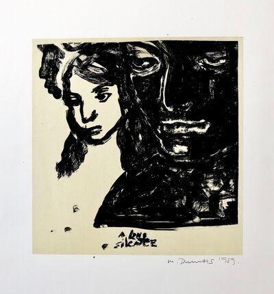 Marlene Dumas, 'A long silence ', 1989