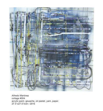 Alfredo Martinez, 'collage #004', 2014