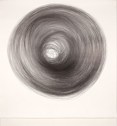 Carali McCall, 'Work no. 1 (Circle Drawing) 1hr 35mins', 2019