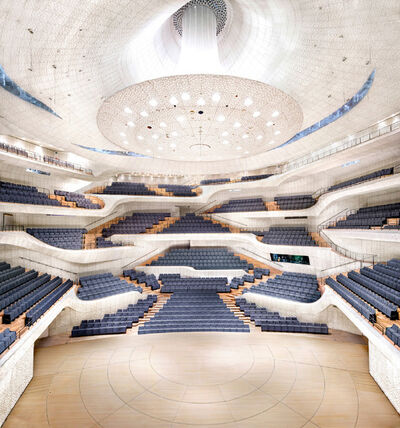 Candida Höfer, 'Elbphilharmonie Hamburg Herzog & de Meuron Hamburg X', 2016