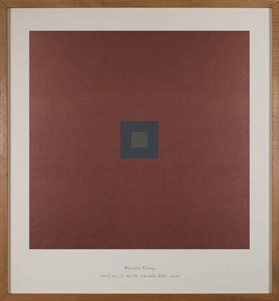 Özlem Günyol & Mustafa Kunt, 'Maddesel Resimler  Materialistic Paintings % 97 Cu %2,5 Zn %0,5 Sn  (Australian Dollar, 1 Cent)', 2018