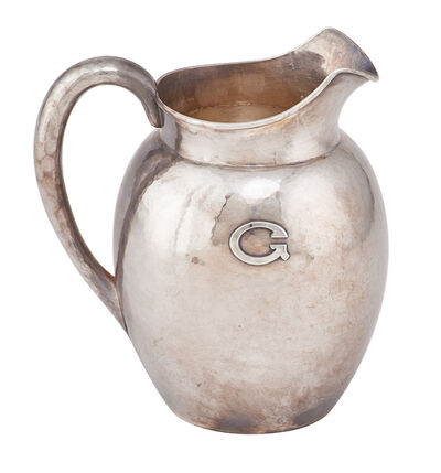 Kalo, 'Kalo Sterling Silver Water Pitcher', early 20th c.