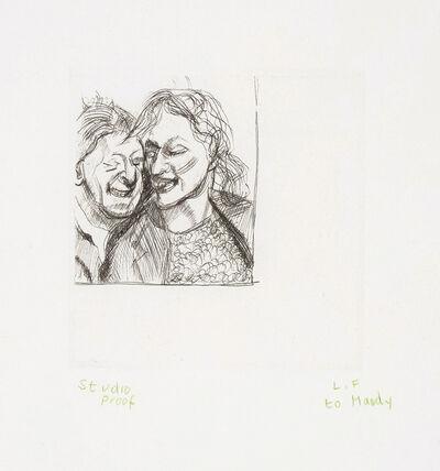Lucian Freud, 'A Couple', 1982