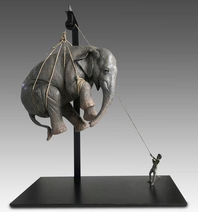 Stefano Bombardieri, 'Elia e l'elefante', ca. 2018