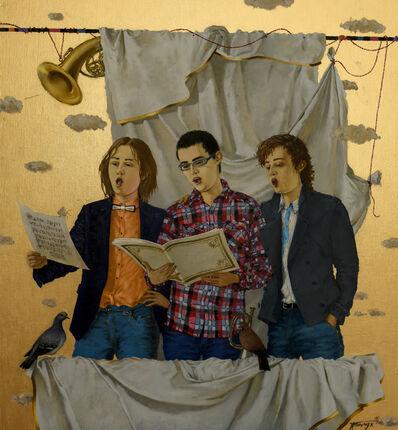 Tatyana Palchuk, 'TRIO  OF SINGERS BOYS', 2016