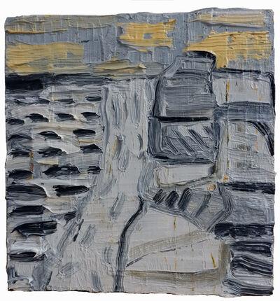Erik Neff, 'Gray on Wood', 2019