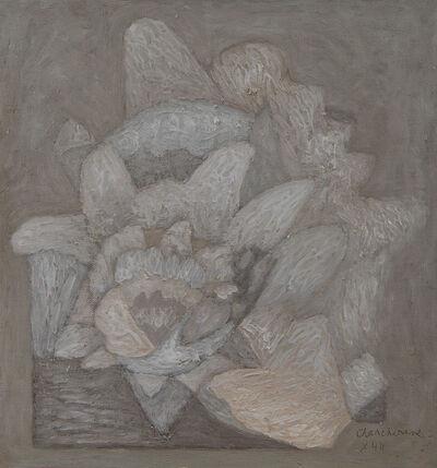 Serge Charchoune, 'Fleur. Composition monochrome', 1944