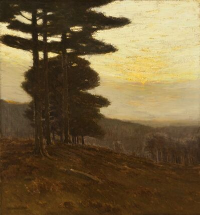 Charles Warren Eaton, 'Forest Edge', 1904