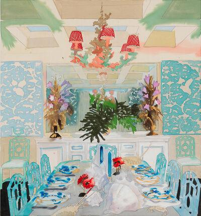 Liz Markus, 'Celerie Dining Room', 2018