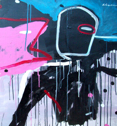 Alain Jiménez Santana, 'Black, Black, Black, No. 5 ', 2019