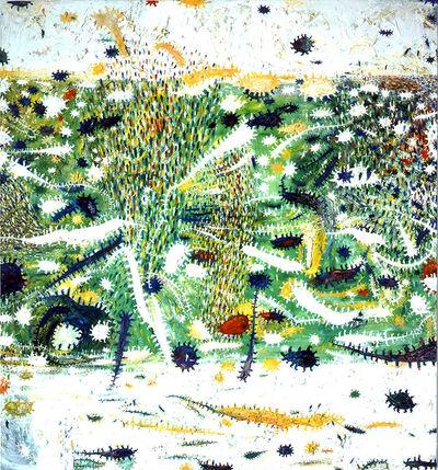 Gunter Damisch, 'WeissfeldweltenInnererFrühling', 2000-2001