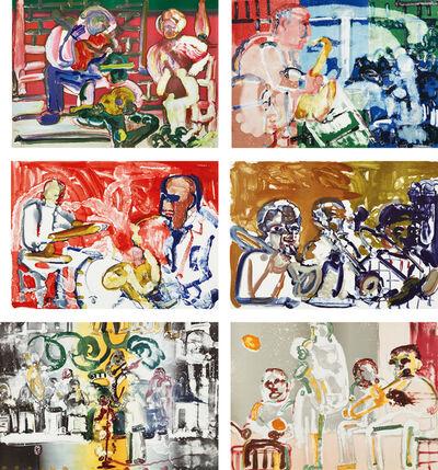 Romare Bearden, 'Jazz', 1979