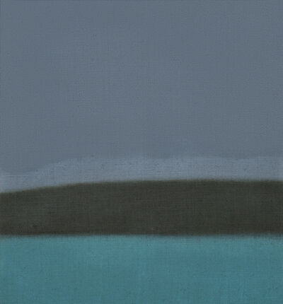 Susan Vecsey, 'Untitled (Gray/Turquoise)', 2020