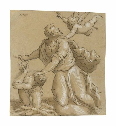 Jacopo Palma il Giovane, 'The Sacrifice of Isaac'