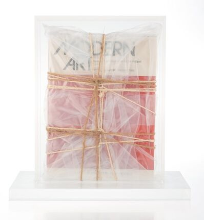 Christo, 'Wrapped Book Modern Art', 1978