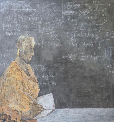 Loka Suara, 'Expression on a blackboard', 2019