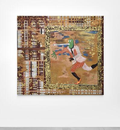 Hélène Delprat, 'Volé à Magritte VI ( la fuite )', 2020