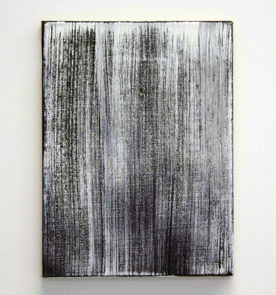 Raimund Girke, ''Schwarzdominant (421)', 1996