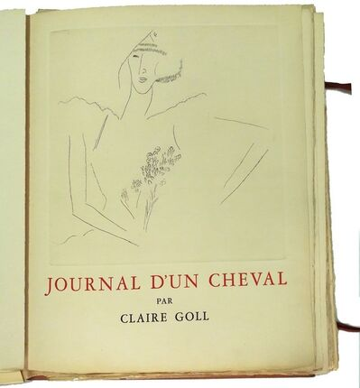 Marc Chagall, 'Journal d'un cheval', 1952