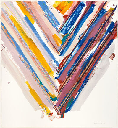 Kenneth Noland, 'Days and Nights', 2008