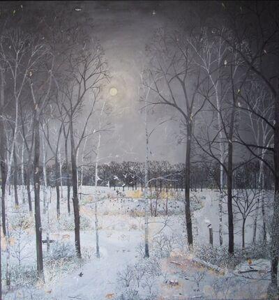 Emma Haworth, 'Midnight Snow', 2017