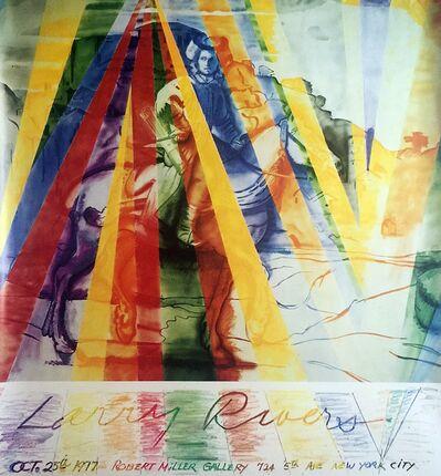 Larry Rivers, 'Vintage Robert Miller Gallery Poster', 1977
