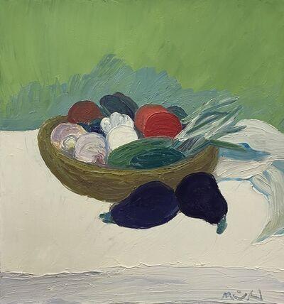 Roger Muhl, 'Panier aux legumes', ca. 2002