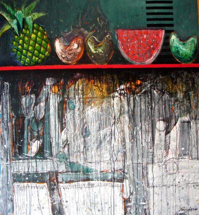 Vladimir Cora, 'Bodegon with fruit', 2000